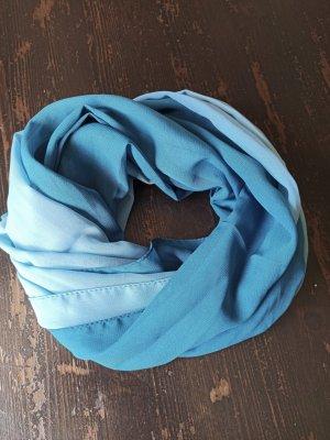 Foulard bleu clair-bleu