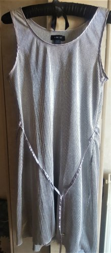 Amisu Midi-jurk zilver Polyester