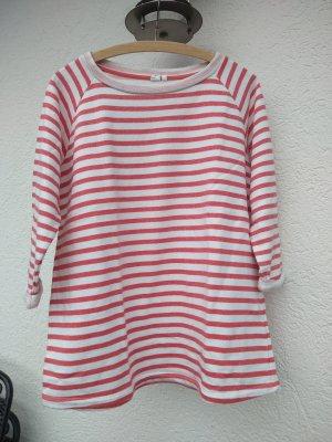 Blue Motion Maglietta a righe bianco sporco-rosso chiaro
