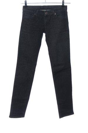 duesenberg Skinny Jeans schwarz meliert Casual-Look