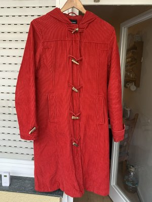 Only Duffel Coat brick red corduroy