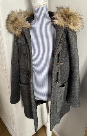 Zara Woman Duffle-coat gris