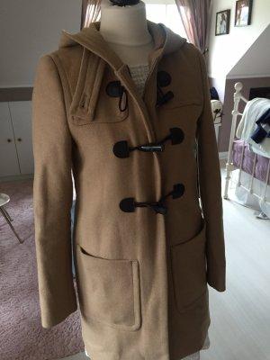 Benetton Duffle-coat marron clair