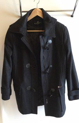 Franca Luca Duffel Coat dark blue
