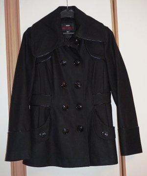 Miss Sixty Duffle-coat noir tissu mixte