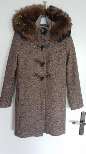 mabrun Duffle-coat multicolore laine vierge