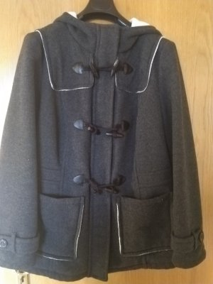 s.Oliver Duffle-coat noir tissu mixte