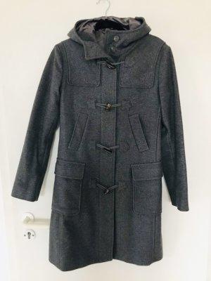 Benetton Duffel Coat dark grey