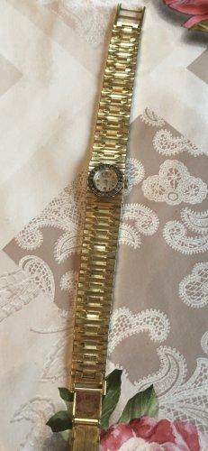 Dugena Double echt vergoldete Uhr top Zustand