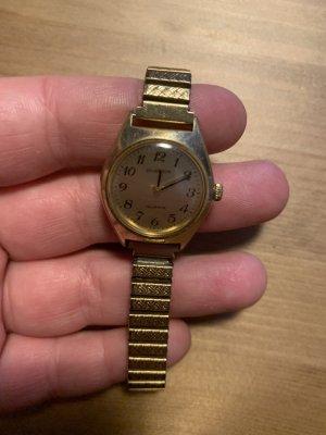 Dugena Uhr gold vintage