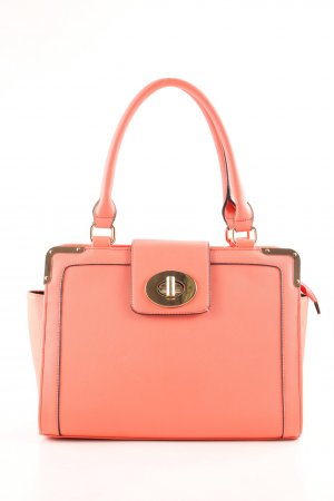 Dune Handtasche hellorange Business-Look