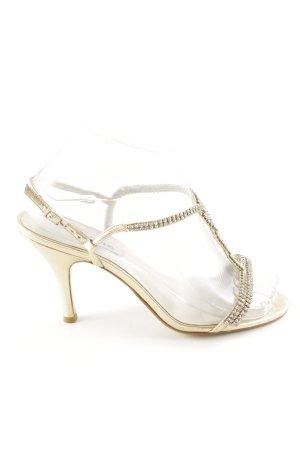 Dune High Heel Sandaletten wollweiß Elegant