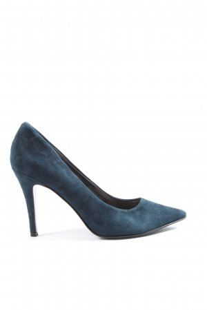Dune High Heels blau Business-Look