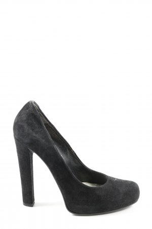 Dune High Heels schwarz Business-Look