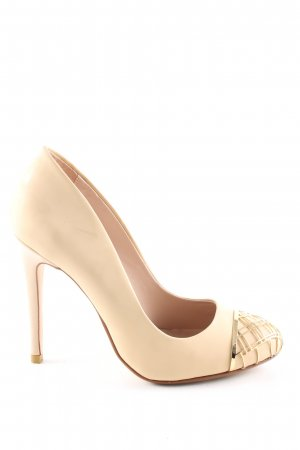Dune High Heels creme Business-Look
