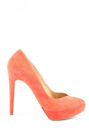 Dune High Heels hellorange Business-Look