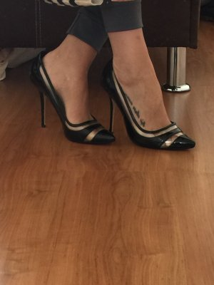 DUNE High Heels Plexi Pumps