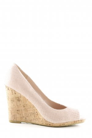 Dune Keil-Pumps creme Casual-Look