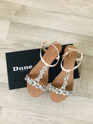 Dune London Riemchen Sandalen Strass