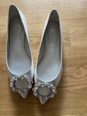 Dune Schuhe 38 weiß Braut Brautschuhe