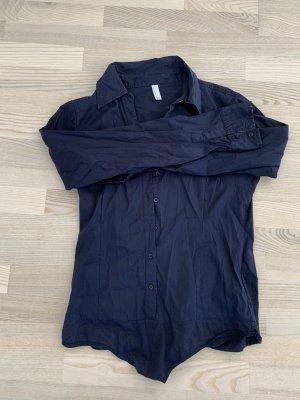dunkel blauer Blusenbody von Vero Moda