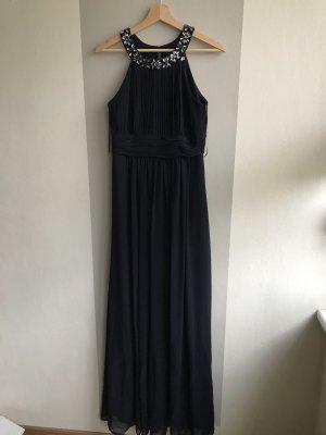 Dunkel blaues elegantes Abendkleid