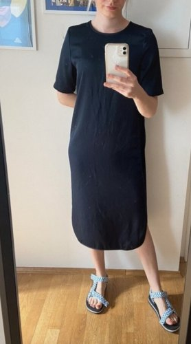 Dunkel Blaues Midi Kleid