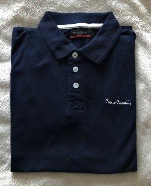 Dunkel blaues Polo Hemd