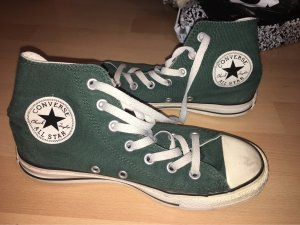Converse Lace-Up Sneaker dark green-white