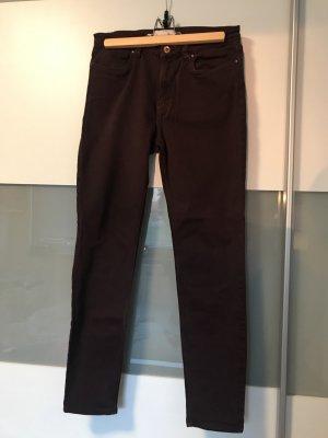 Dunkel Lila LOGG Jeans, Gr 40