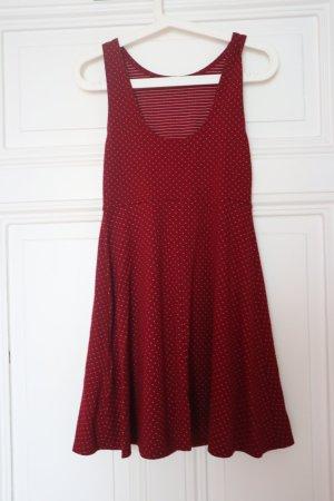 Clockhouse A-lijn jurk donkerrood