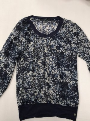 One Touch Long Sleeve Blouse multicolored
