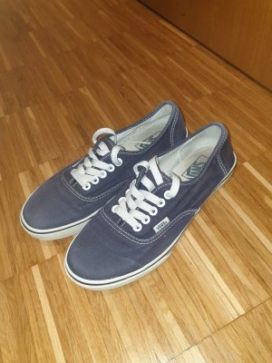 dunkelblau /graue Vans