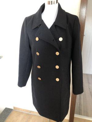 Dunkelblau / schwarzer Mantel von Only - Gr.  L