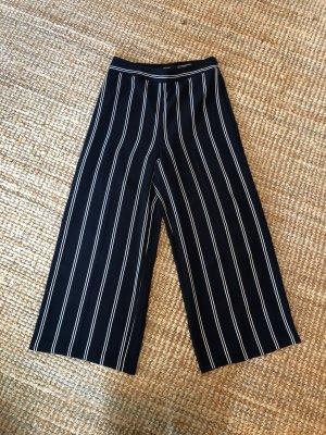 someday Falda pantalón de pernera ancha blanco-azul oscuro