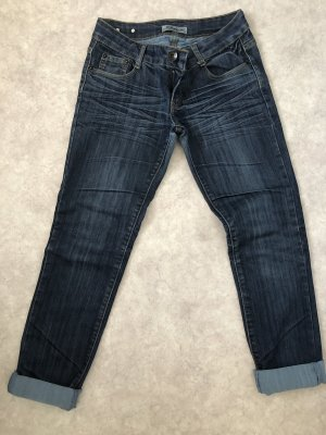 3/4 Length Jeans dark blue