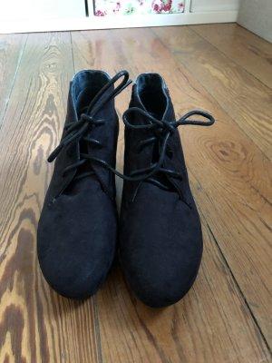 Dunkelblaue Ankleboots von Tom Tailor Denim