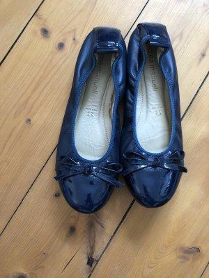 Andrea Manueli Ballerinas with Toecap dark blue
