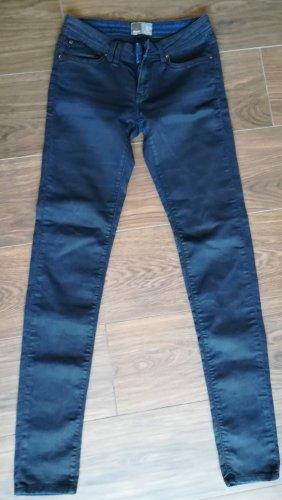 Bench Jeansy ze stretchu ciemnoniebieski Bawełna
