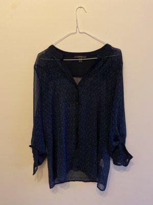 dunkelblaue Bluse