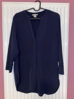 H&M Shirt Blouse dark blue