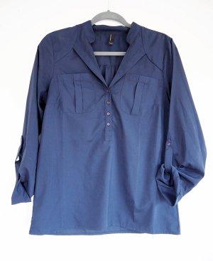 dunkelblaue Bluse Vero Moda