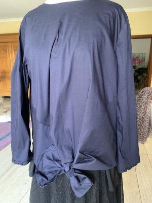 Dunkelblaue Bluse von ETERNA Gr 38
