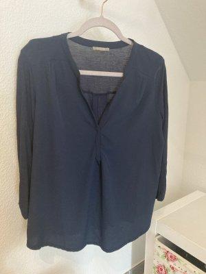 Orsay Camicetta a maniche lunghe blu scuro
