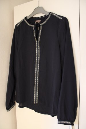 dunkelblaue Bluse von Vero Moda in Gr. XS