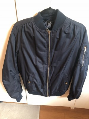 Topshop Giacca bomber blu scuro