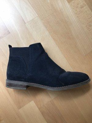 dunkelblaue BOOTS/ Stiefeletten