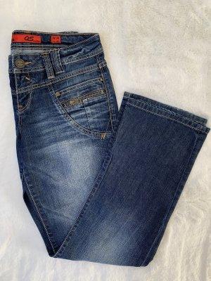 Dunkelblaue Boyfriend Jeans von s.Oliver Gr. 38