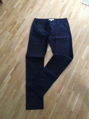 Michael Kors Pantalon cigarette bleu foncé