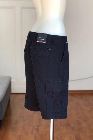 Dunkelblaue Cargo Shorts Tommy Hilfiger W31 M/L Unsiex